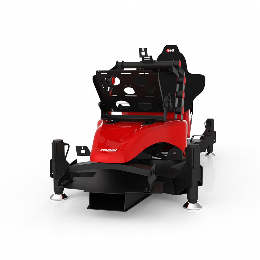 RS Formula M4A Red Full Motion, Electrical Adjustment of the pedals and seat