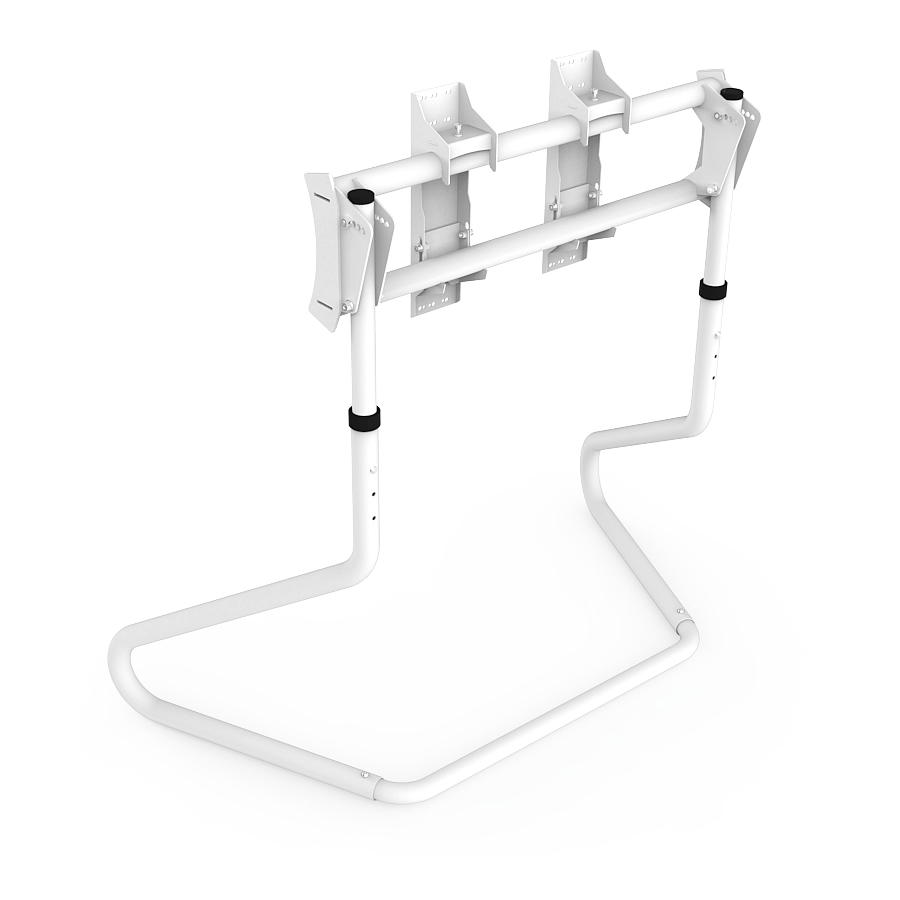 RS STAND S3 V2 White - TV Stand for up to 65 inch