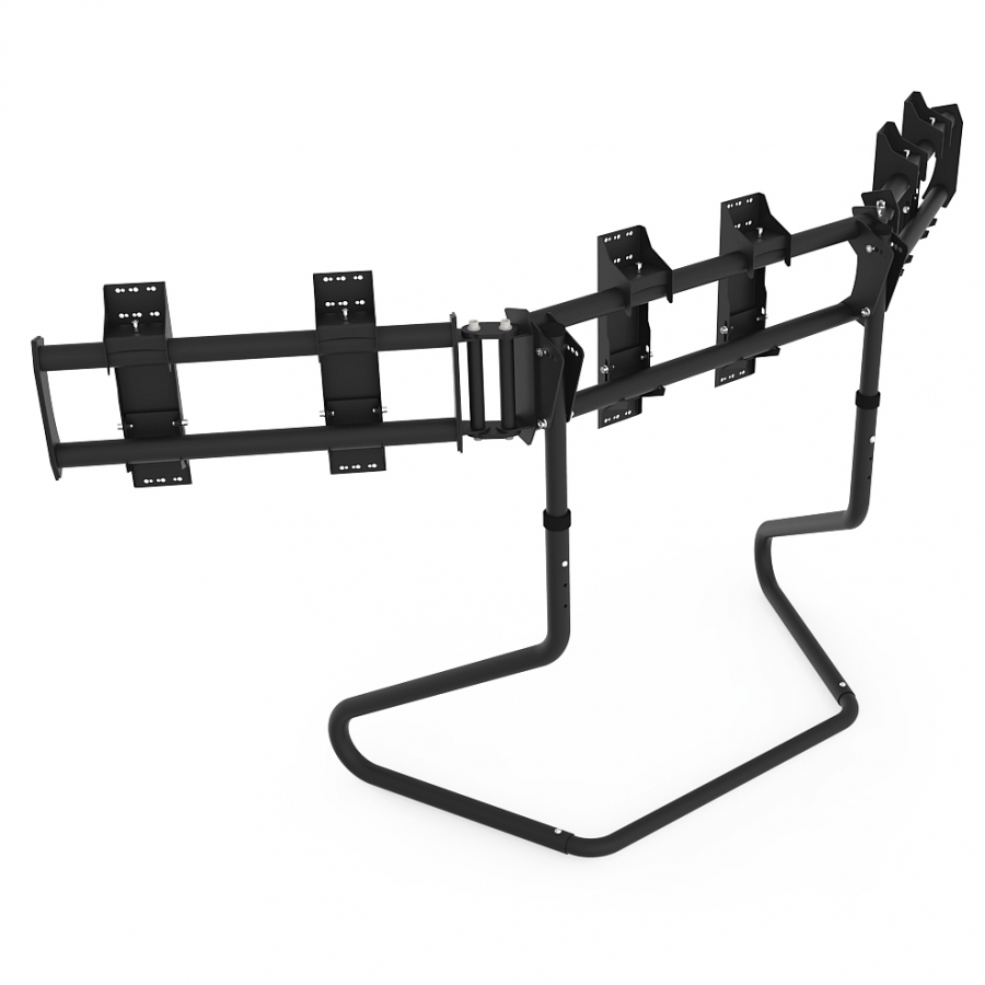 RS STAND T3XL V2 Black - TV Stand for up to 3x47inch